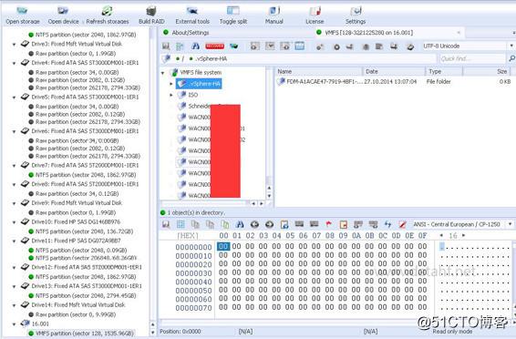 DELL EqualLogic PS4000服务器数据恢复成功过程