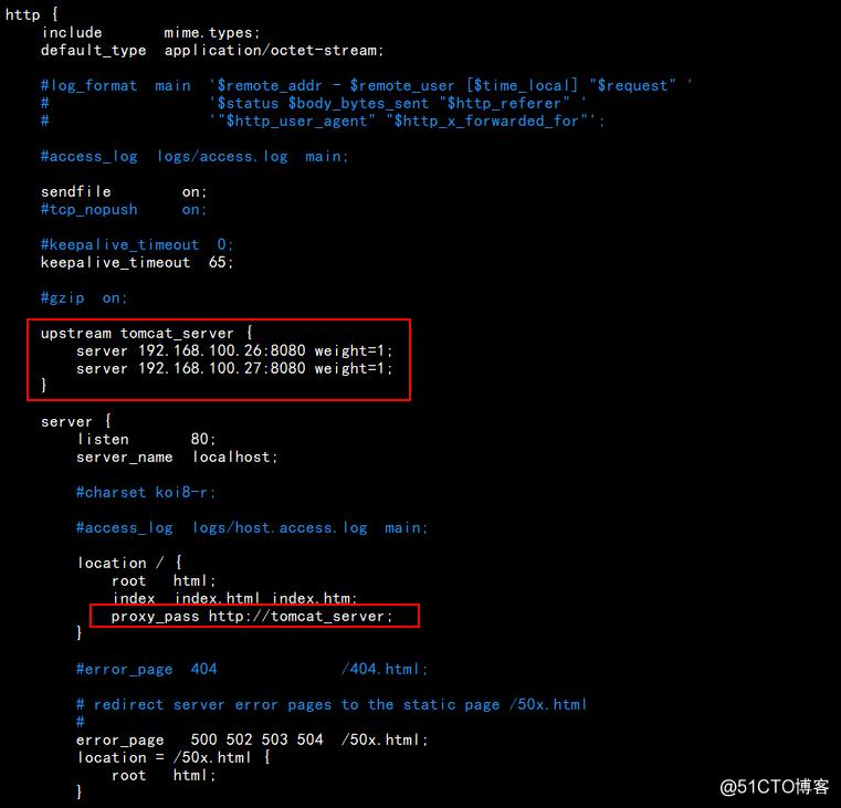 Nginx+Tomcat 部署负载均衡集群