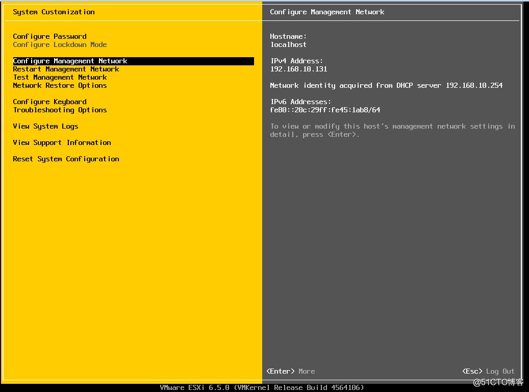 最详细安装Esxi 6.5