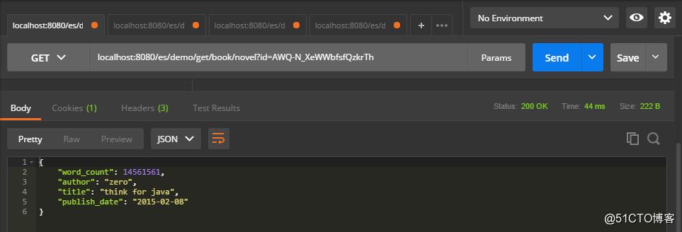 Spring Boot集成ElasticSearch实现简单的增删查改接口