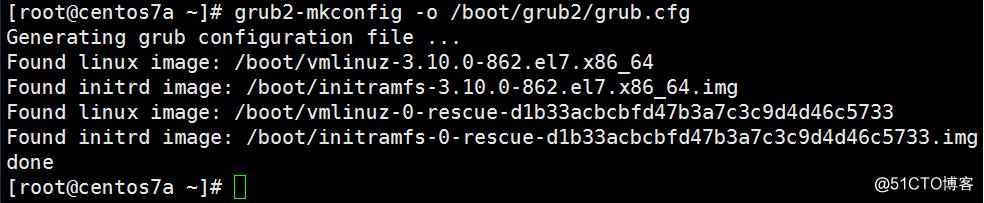 grub2故障举例及修复