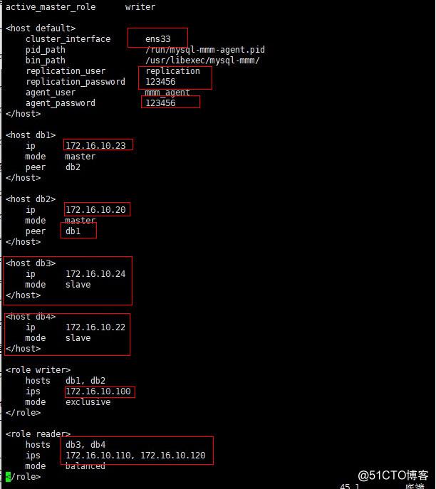 MariaDB-MMM高可用群集