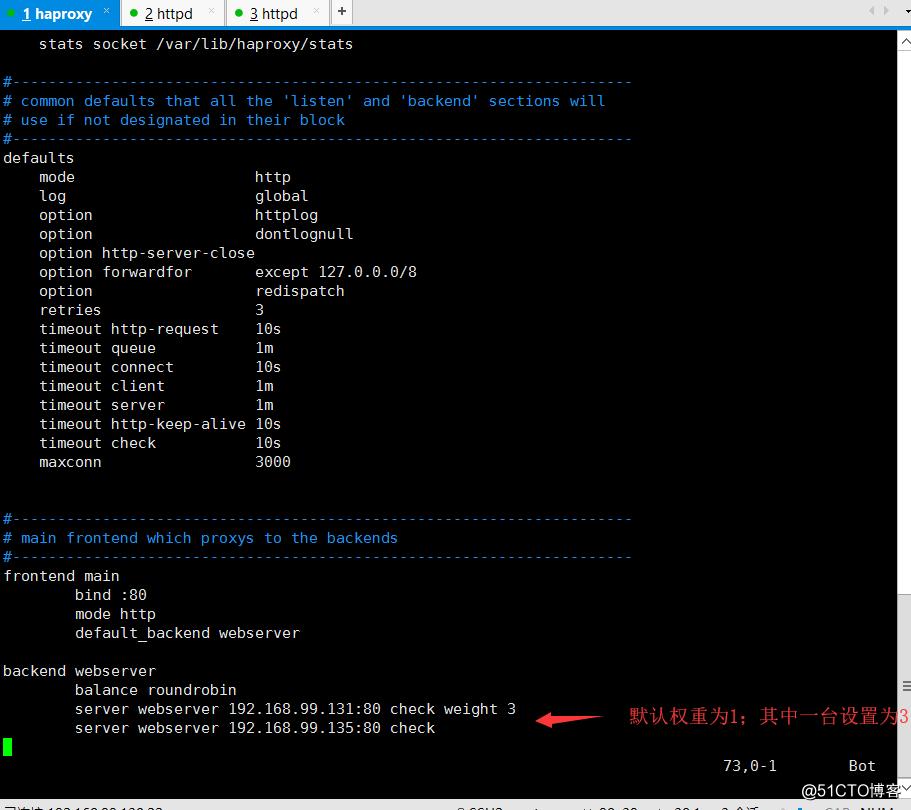 HAProxy入门及常用配置模拟测试