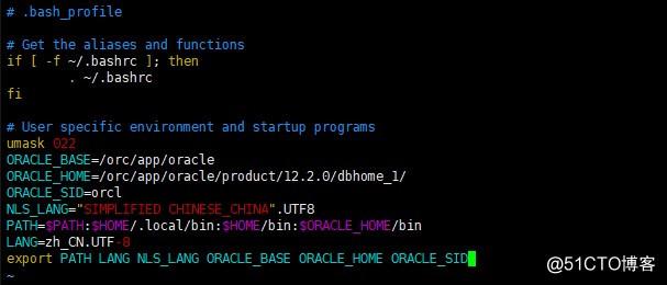 Centos7中部署安装Oracle 12c