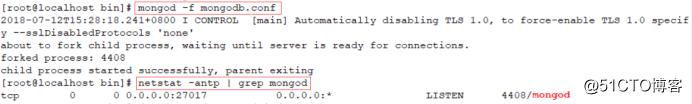 CentOS 7上安装 MongoDB数据库 4.0.0最新版