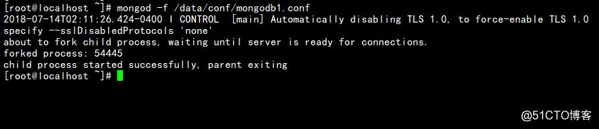 【最新版4.0】MongoDB的安装、配置及启动实例
