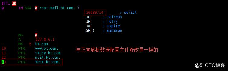 超详细DNS正、反向解析以及主从复制