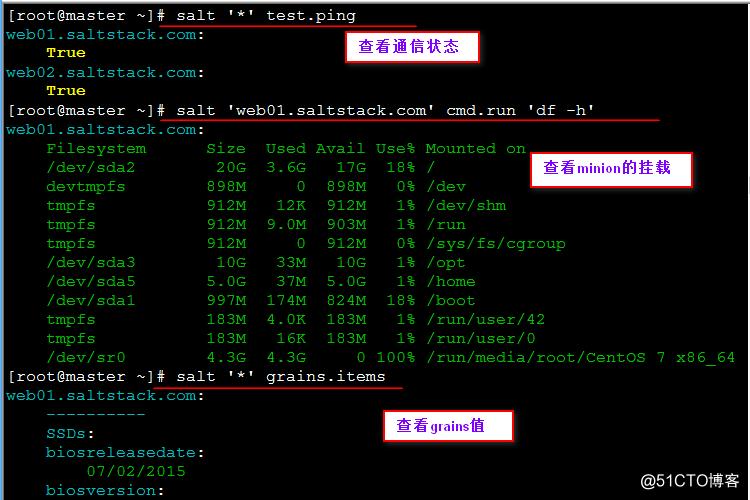 部署SaltStack及批量安装httpd服务