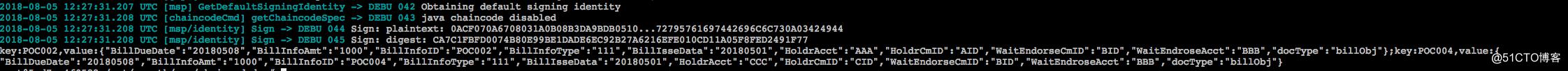Hyperledger Fabric启用CouchDB为状态数据库
