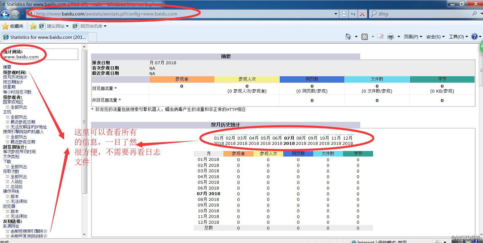 AWStats 日志分析系统(含源码包)