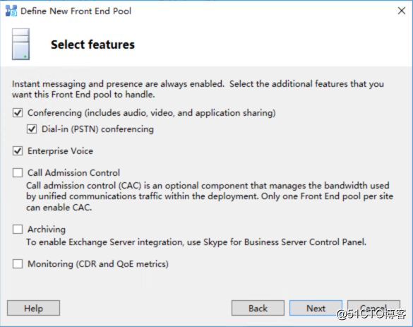 Skype for Business Server 2019 本地部署