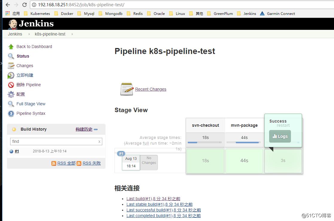 Jenkis pipeline构建项目实践