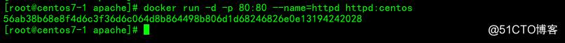 通过Dockerfile创建docker镜像