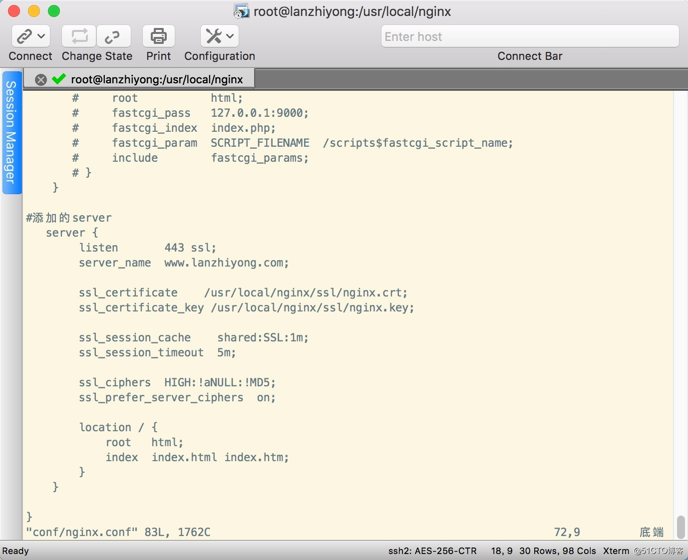 Linux中nginx配置