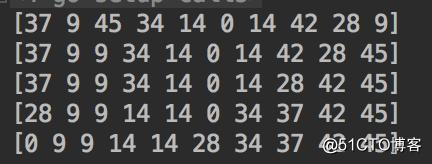 [golang] 数据结构-快速排序