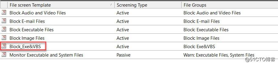 如何对文件服务器进行精细化管理之二:文件屏蔽?