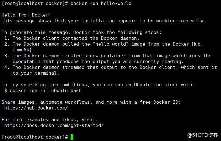 Centos 7部署docker环境、基本命令使用及简单实战