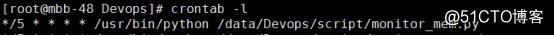 基于Django+Bootstrap框架,可视化展示内存监控信息