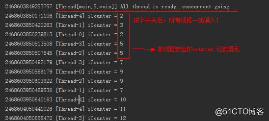 CountDownLatch和CyclicBarrier模拟同时并发请求