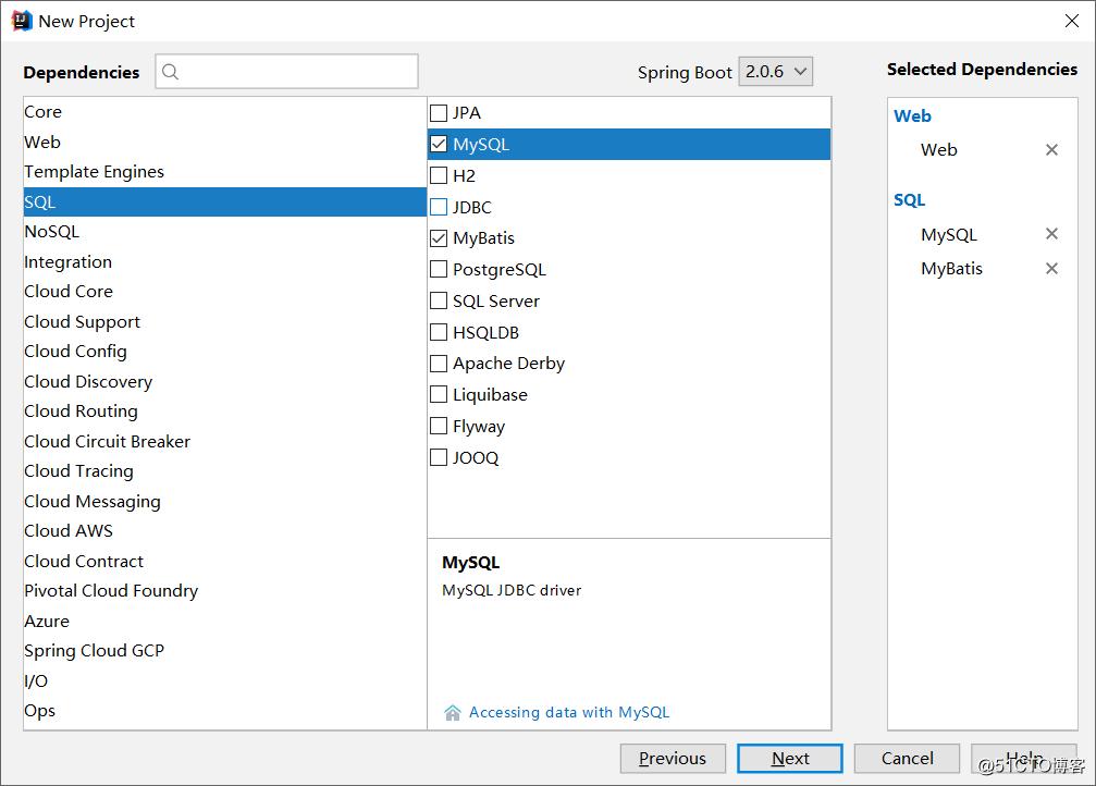 使用Spring Boot+MyBatis框架做查询操作