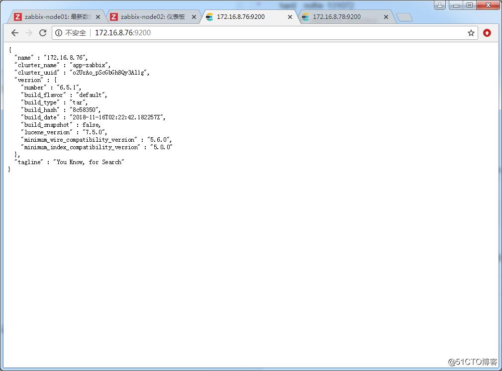 ZABBIX4.0.2监控历史数据存放Elasticsearch及集群高可用方案