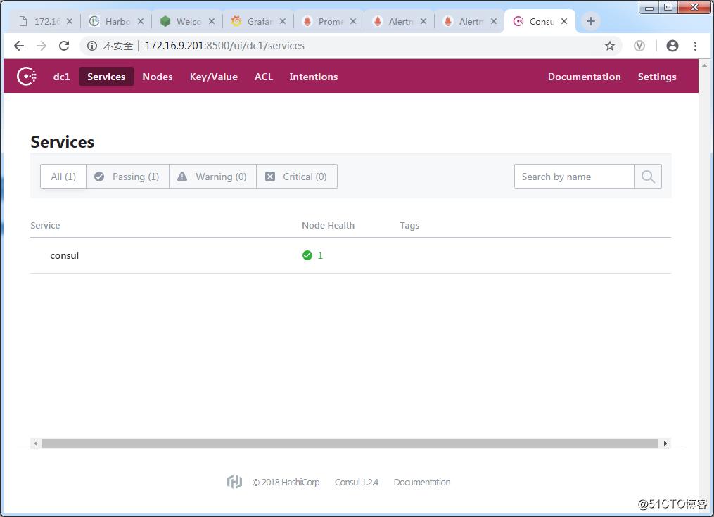 Centos7.5 Prometheus2.5配置和基于Consul1.2.4的服务发现