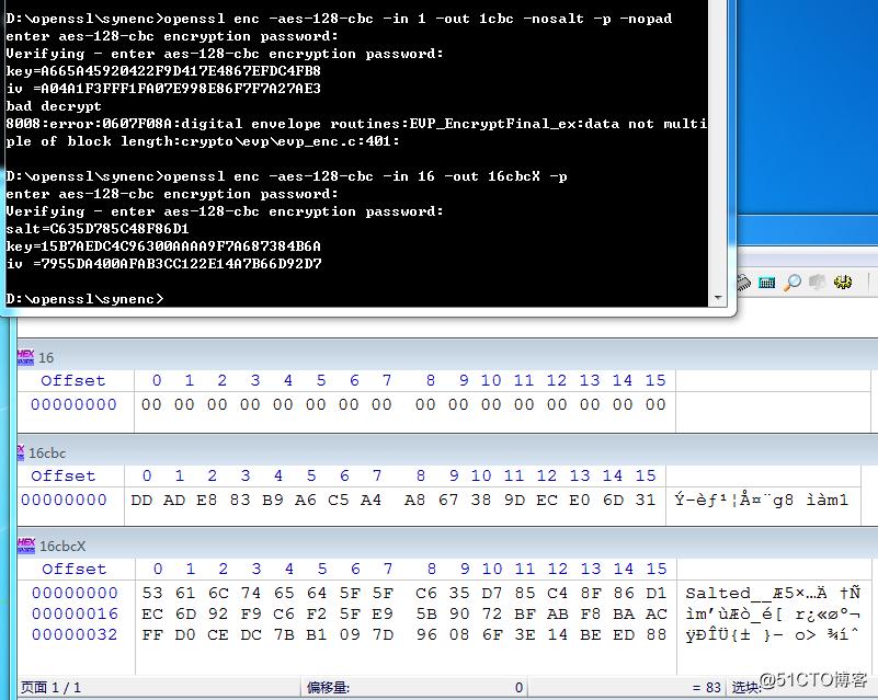 Openssl Decrypt Aes128